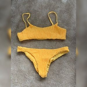 Yellow ZAFUL bikini